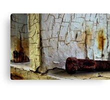 Worn Out and Deserted Canvas Print