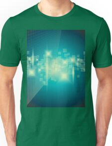 Abstract blue background Unisex T-Shirt
