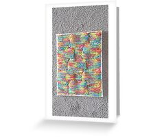 Knitted Art Greeting Card