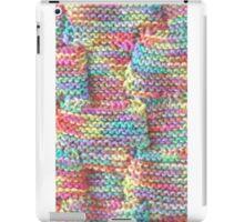 Knitted Art (detail) iPad Case/Skin