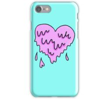 dripping heart  iPhone Case/Skin