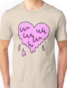 dripping heart  Unisex T-Shirt