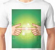 social network structure Unisex T-Shirt