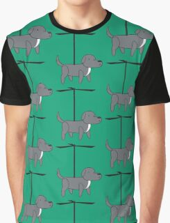 Propelled dog with Helix Graphic T-Shirt