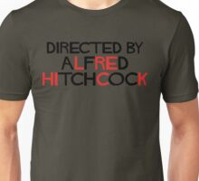 I'm an actor - directed by Alfred Hitchcock Unisex T-Shirt