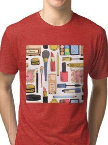 Cosmetic pattern Tri-blend T-Shirt