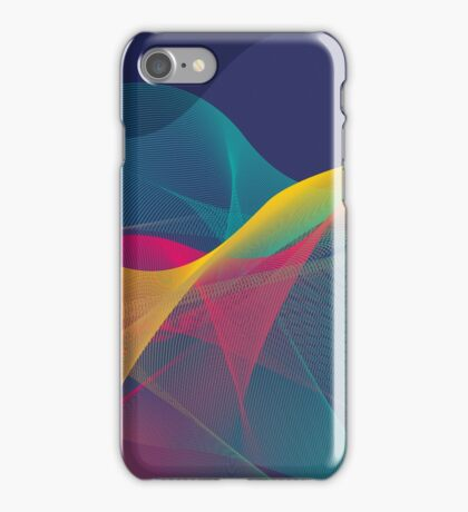 colorful abstract urban background iPhone Case/Skin