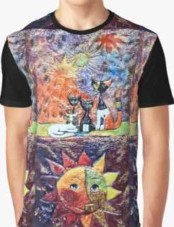 Exclusive: My Creations Artistic Sculpture Relief fact Main 9  PAINT (Painting & Mixed Media) (c)(h) by Olao-Olavia / Okaio Créations Graphic T-Shirt