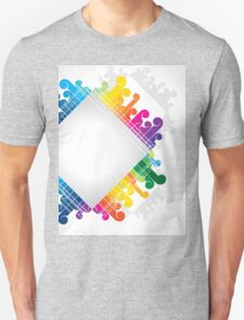 colorful abstract urban design Unisex T-Shirt