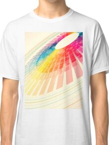 colorful abstract wheel Classic T-Shirt