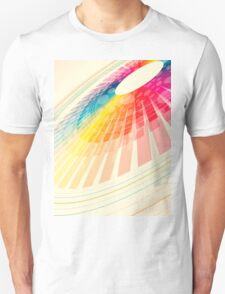 colorful abstract wheel T-Shirt