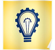 engineering bulb idea Poster