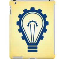engineering bulb idea iPad Case/Skin