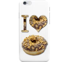 I Love Donuts iPhone Case/Skin