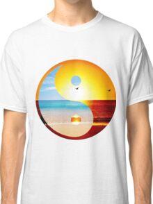 yin and yang-ocean  Classic T-Shirt