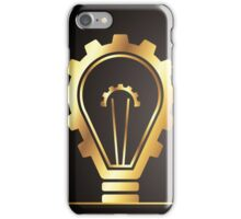 environmental bulb idea iPhone Case/Skin