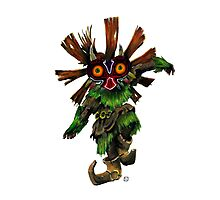 Majoras Mask Skull Kid Photographic Print