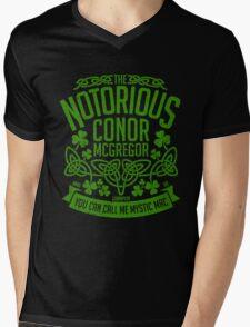 Conor McGregor Crest [Green] Mens V-Neck T-Shirt