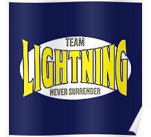 Louis 'Lightning' Lee-Scott NEVER SURRENDER Attire Poster