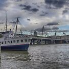 Hungerford Bridge  by Bokeh  Photography