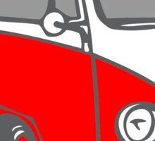 Volkwagen T1 red Sticker