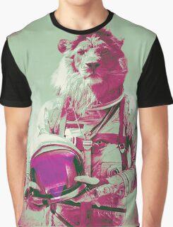 Space lion Graphic T-Shirt