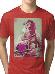 Space lion Tri-blend T-Shirt