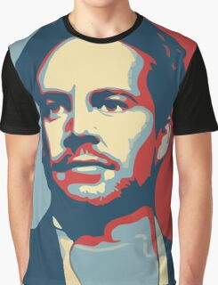 "Paul Walker/Brian O'Conner ""The Buster"" Graphic T-Shirt"