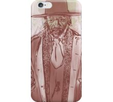Nobody Sits in Sweet Dave's Chair iPhone Case/Skin