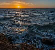 Sunset in Sicily by Giovanni Costa