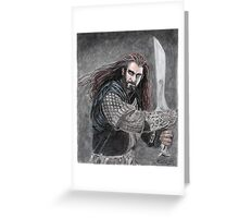Thorin Oakenshield Greeting Card