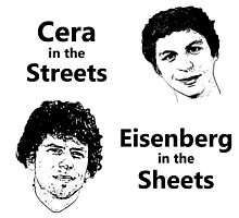 Cera in the Streets, Eisenberg in the Sheets by TheDisorg