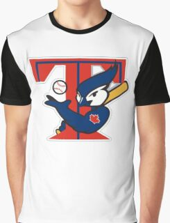 TORONTO BLUE JAYS BASIC LOGO Graphic T-Shirt