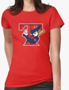 TORONTO BLUE JAYS BASIC LOGO Womens Fitted T-Shirt