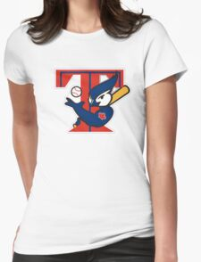 TORONTO BLUE JAYS BASIC LOGO Womens Fitted T-Shirt