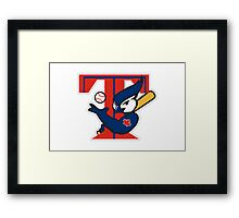 TORONTO BLUE JAYS BASIC LOGO Framed Print