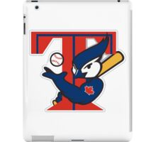 TORONTO BLUE JAYS BASIC LOGO iPad Case/Skin