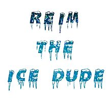Reim The Ice Dude Photographic Print