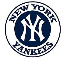 NEW YORK YANKEES LOGO Photographic Print