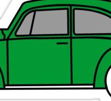 Volkswagen Bug green Sticker