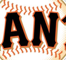 GIANTS BASEBALL TEAM Sticker