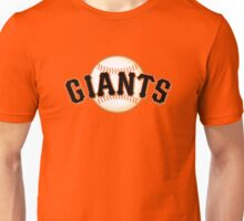 GIANTS BASEBALL TEAM Unisex T-Shirt