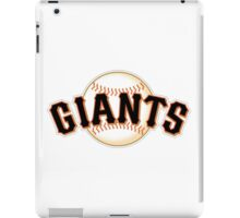 GIANTS BASEBALL TEAM iPad Case/Skin