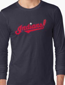 INDIANS BASEBALL TEAM Long Sleeve T-Shirt