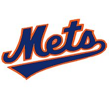 NY METS SIMPLE LOGO Photographic Print
