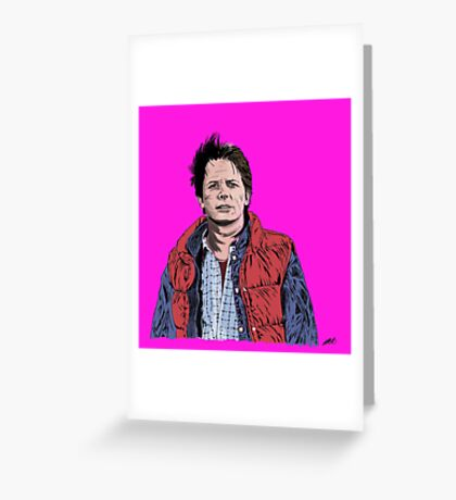 Marty Greeting Card