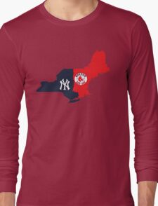 NY YANKEES X BOSTON RED SOX Long Sleeve T-Shirt