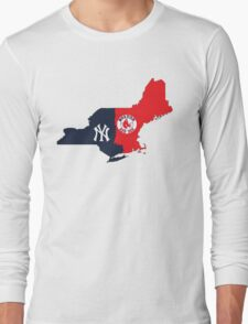 NY YANKEES X BOSTON RED SOX Long Sleeve T-Shirt