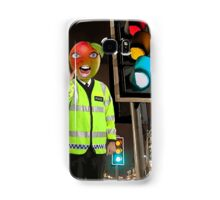 Mango Head Traffic Cop Samsung Galaxy Case/Skin