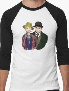 The Bates Men's Baseball ¾ T-Shirt